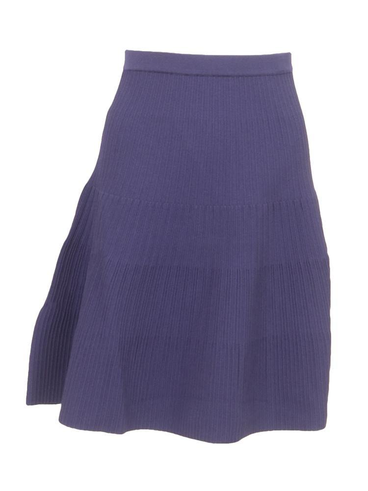 Miss Meme Ribbed Knit Skirt Style 1815 Pinkorchidfashion