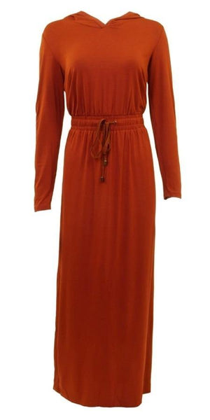 Ya Hooded Maxi Dress