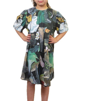 JNBY Bold Print Short Sleeve Dress