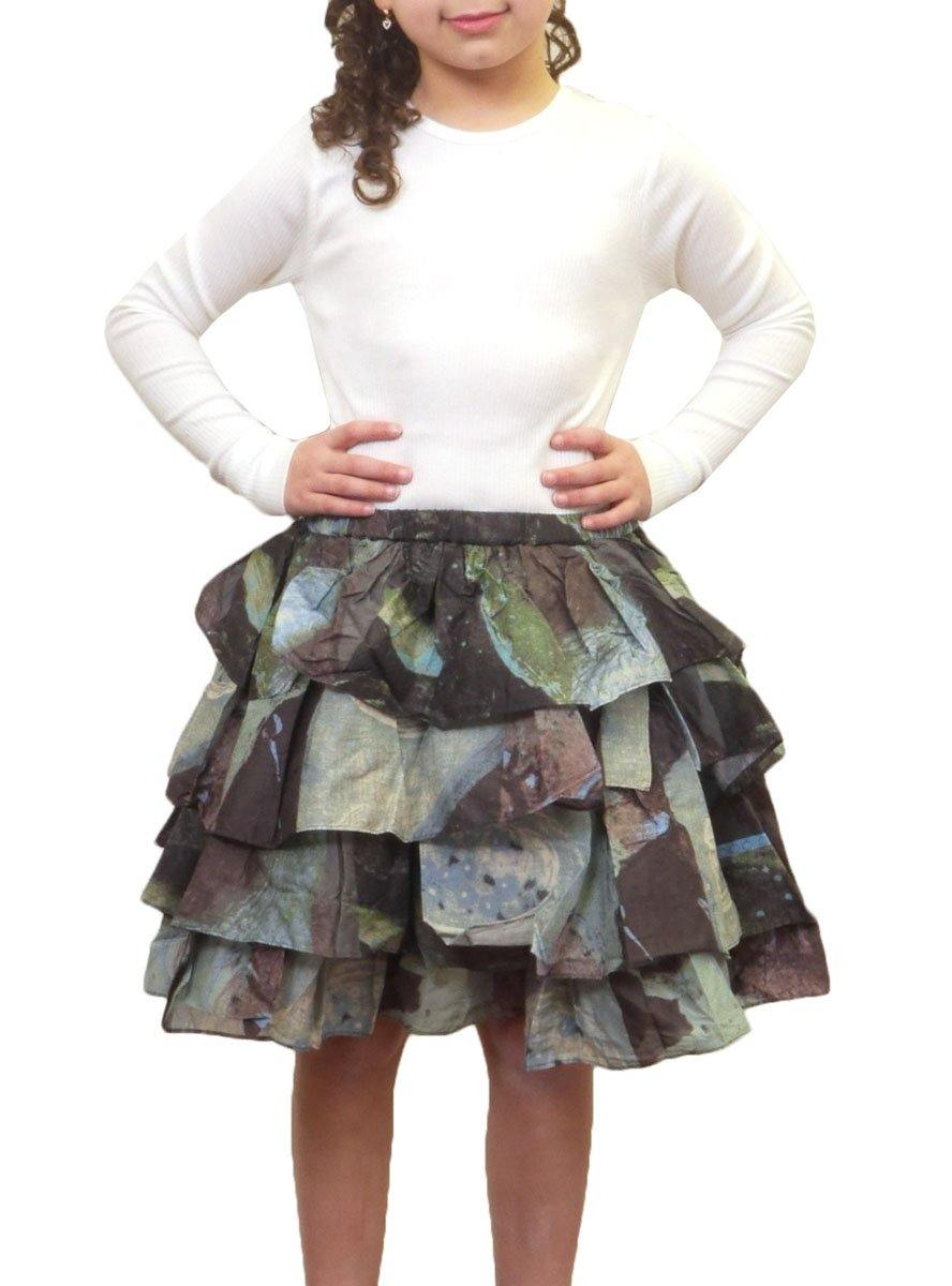 JNBY Print Ruffle Layers Skirt