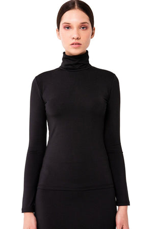 Kikiriki Fitted Lycra Turtleneck 18168