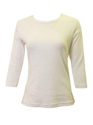 24/7 Ribbed 3/4 Sleeve T-shirt