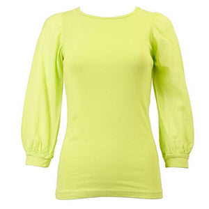 Hardtail 3/4 Bubble Sleeve T-shirt T-158