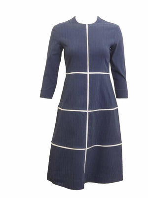 Class Co Windowpane Dress