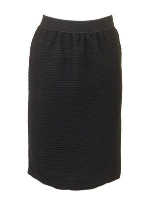 Miss Donna Stretch Layered Pencil Skirt