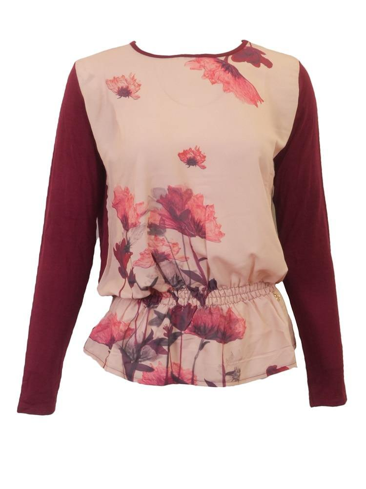Scusi Flower Print Top