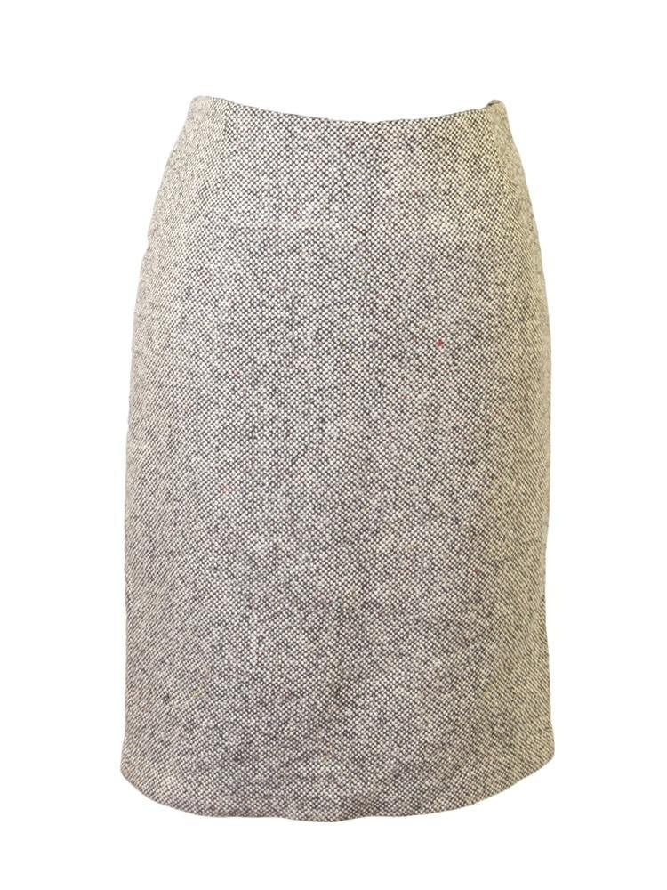 Alberto Makali Tweed Pencil Skirt