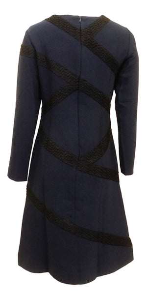 Marlowe Navy Dress