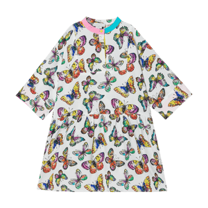 Stella McCartney Kids Oversized Butterflies Dress