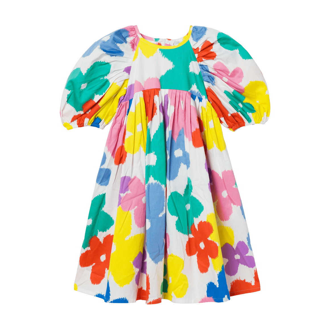 Stella McCartney Kids Flowers Midi Dress Front