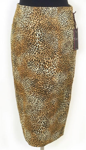Dex Leopard Pencil Skirt