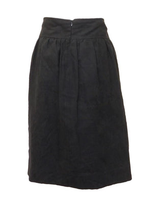 Dejavu Suede Flair Skirt