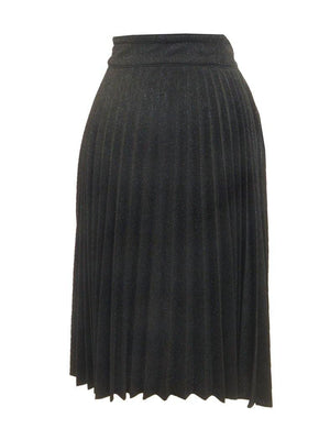 Jamie Glitter Accordion Pleat Skirt