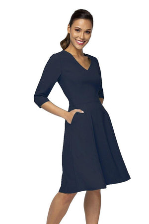 Nora Gardner V-neck Alexandra Dress
