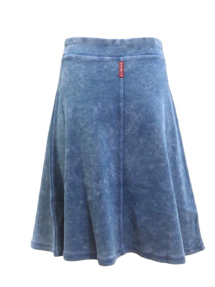 Red Myth Wash Pull On Skirt