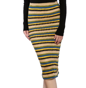 Jovonna London Knit Stripe Skirt
