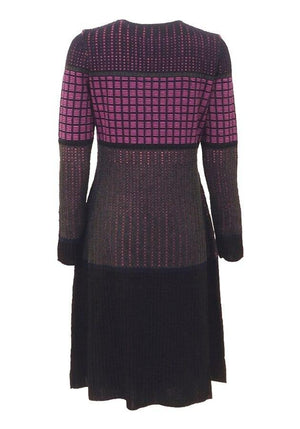 Rowey Multi-colored Knit Dress