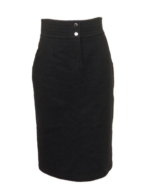 The Cue Wool Pencil Skirt