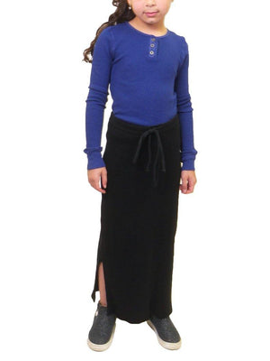 Hard Tail Junior Long Slit Skirt 874