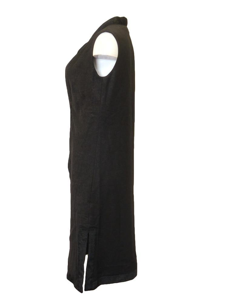 Margot & Clemence Black Vest Front