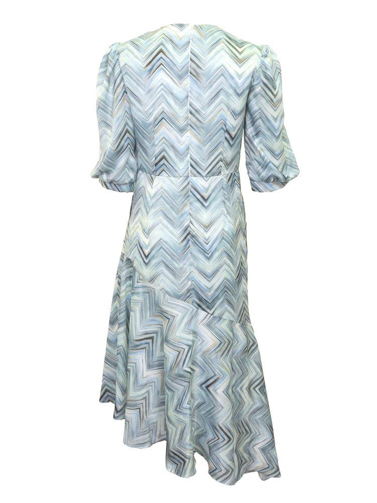 Leah RBI Domingo Blue Dress