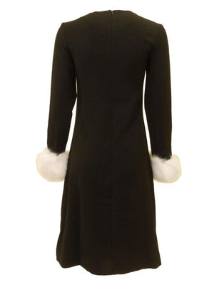 Luella Black Cuff Dress
