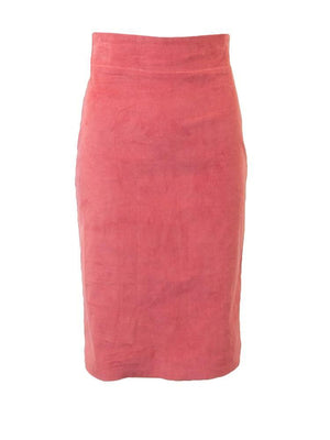 Magnolia Corduroy Pull On Pencil Skirt