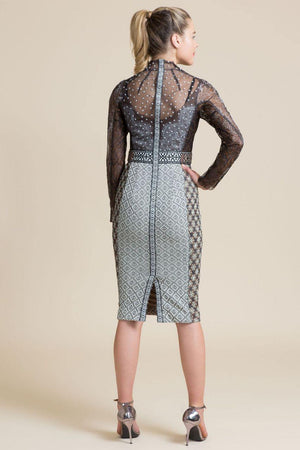 Byron Lars Winter Palace Sheath Dress
