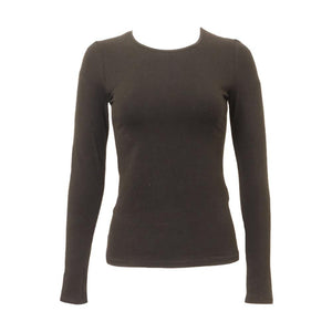 Kikiriki Wide Neck Long Sleeve Cotton Shell