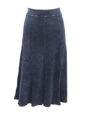 Hard Tail Ribbed Panel Skirt CS-126