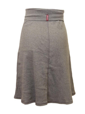 Hardtail Ribbed Rolldown Knee Skirt
