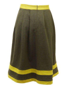 Celine K Color Block Skirt