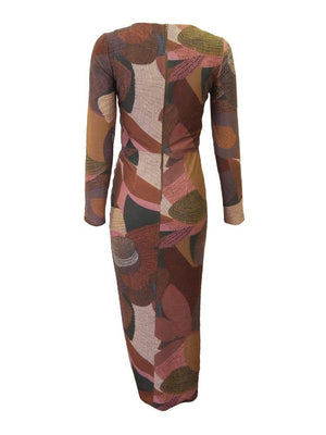 Luba Bella Print Dress