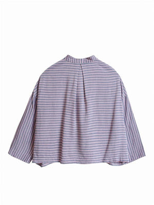FRNCH Carilde Striped Crop