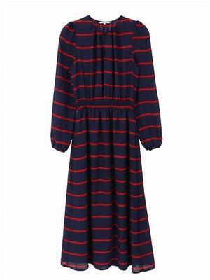 FRNCH Amaryllis Striped Dress