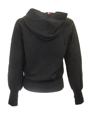 Hard Tail Double Zip  Slouchy Hoodie