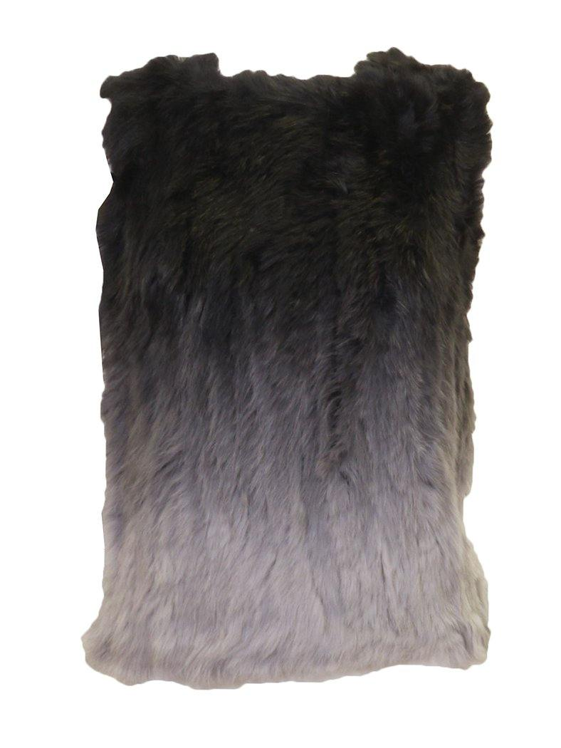 Wear & Flair Ombre Fur Vest Front