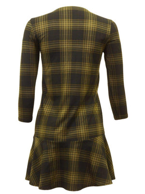 Indigo Juniors Plaid Dress