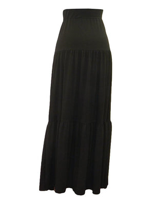 Objex Tier Maxi Skirt