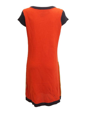 Sisters Knit Colorblock Tunic Dress