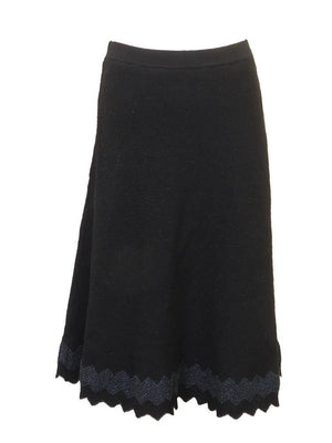 Kathie K Glitter Sweater Skirt