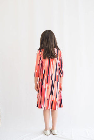 KMW Girls Geometric Dress