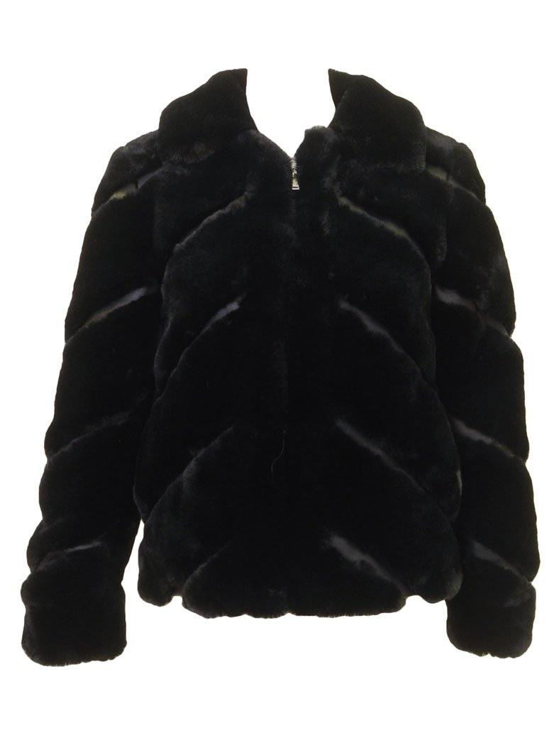 Love Token Fur Collared Jacket