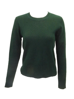 Meli Ribbed Lurex Sweater