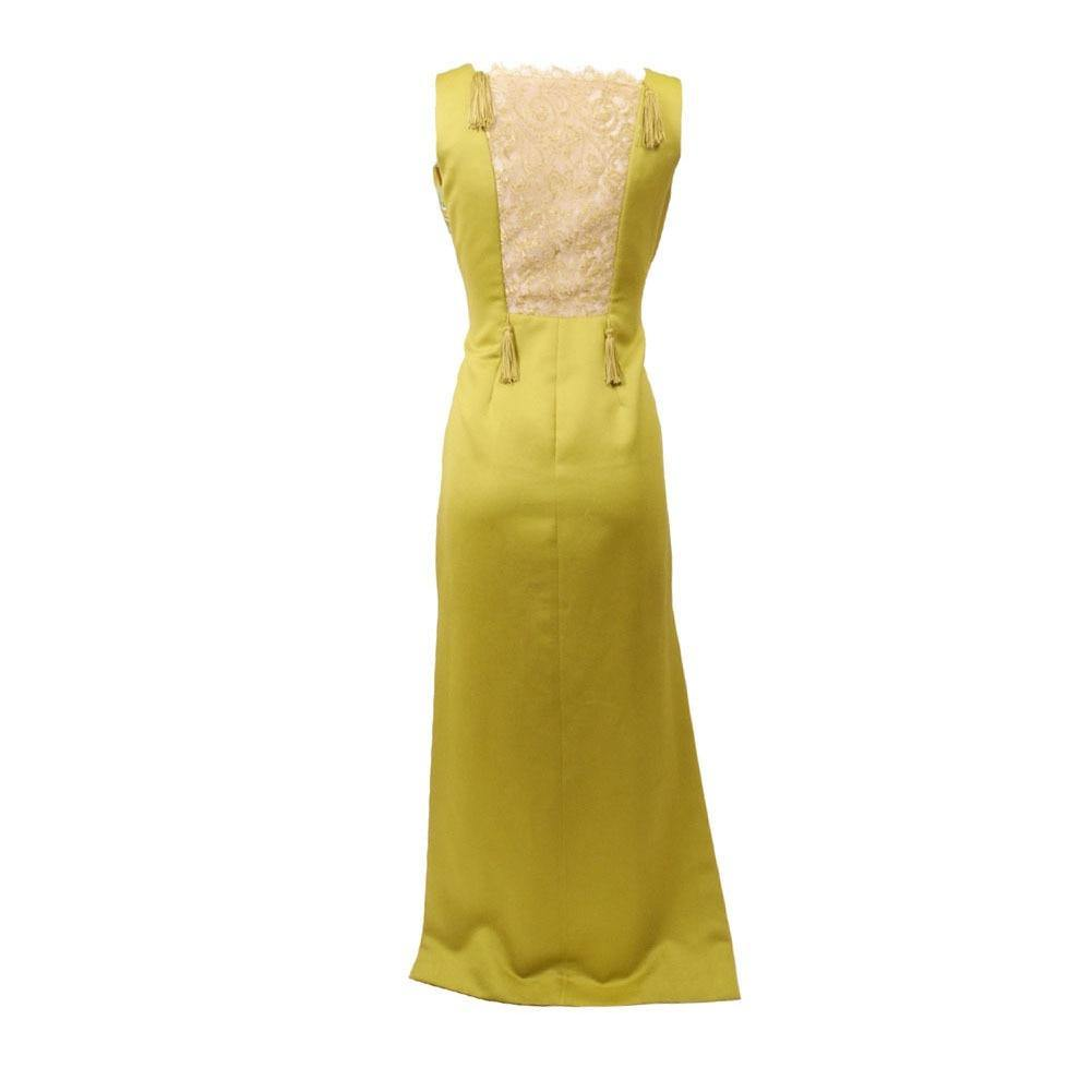 Victor Costa Lime Gown