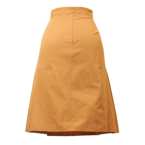 Mossaic Cotton File Skirt