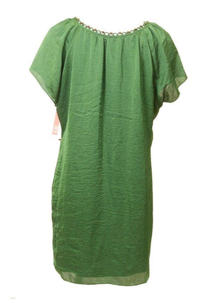 Phoebe Green Silk Dress