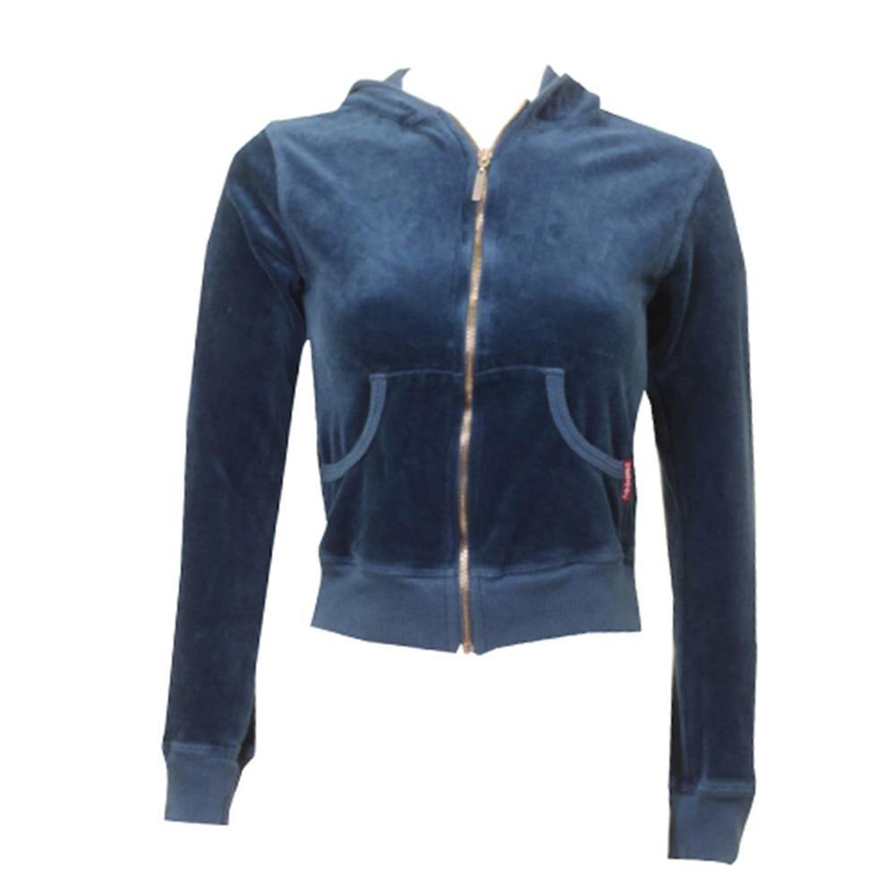 Hardtail Velour Zip-up Hoodie