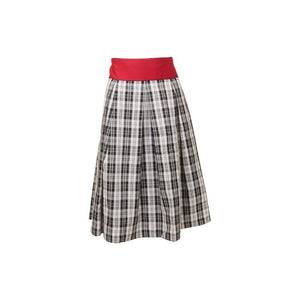 Carine Plaid Skirt