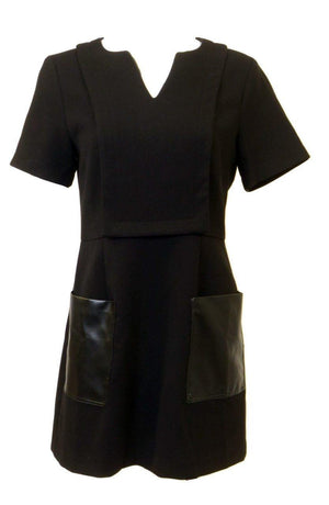Celine K Leather Pocket Tunic